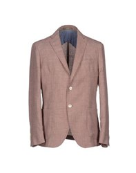 Paoloni Suits And Jackets Blazers Men Maroon