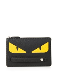 Fendi Bag Bugs Selleria Leather Pouch