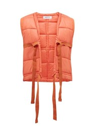Ambush Padded Shell Gilet Orange
