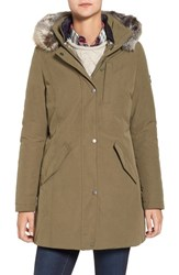 Barbour Women's Epler Faux Fur Trim Waterproof Parka