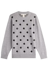 Marc Jacobs Embellished Sweatshirt Grey