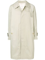 Mackintosh Sand Cotton Oversized Fly Fronted Trench Coat Gm 129Bs Brown
