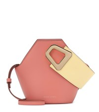 Danse Lente Johnny Xs Leather Tote Pink
