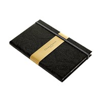 Christian Lacroix A5 Paseo Slim Black Hardbound Journal