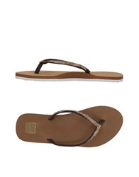 Gioseppo Toe Strap Sandals Brown