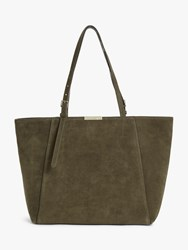 Coccinelle Cher Suede Tote Bag Reef