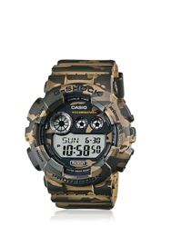 G Shock Absolute Green Camouflage Digital Watch
