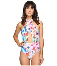 6 Shore Road Cabana One Piece Medellin Floral Women's Swimsuits One Piece Multi