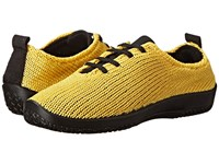 Arcopedico Ls Yellow Women's Lace Up Casual Shoes