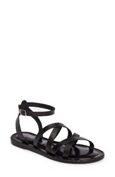 Seychelles Women's In The Shadows Sandal Black Leather