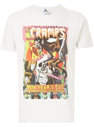 Hysteric Glamour Graphic Poster Print T Shirt Grey