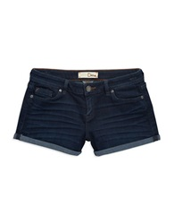 Dittos Angie Roll Cuff Shorts Blue