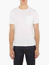 Valentino White Studded T Shirt