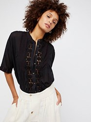 Free People Starlight Buttondown Top By