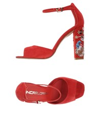 Giancarlo Paoli Footwear Sandals Red