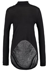 Noisy May Nmlaura Long Sleeved Top Black