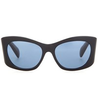 Oliver Peoples The Row Bother Me 54 Cat Eye Sunglasses Black