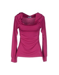 Guess By Marciano T Shirts Garnet