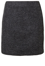 Marc O'polo Mini Skirt Graphite Melange Anthracite