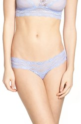 B.Tempt'd Women's By Wacoal 'Lace Kiss' Bikini Very Violet