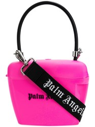 Palm Angels Padlock Mini Bag Pink
