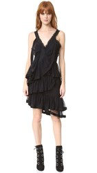 Preen Zetta Dress Black