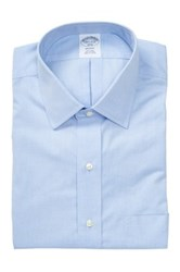 Brooks Brothers Long Sleeve Slim Fit Shirt Blue