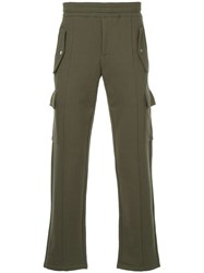 Ck Calvin Klein Fitted Track Trousers Green