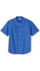 Ymc Oxford Baseball Shirt Royal