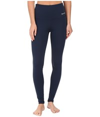 Bench Dominant High Waisted Leggings Dress Blues Women's Casual Pants Navy