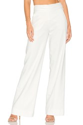 Frame Denim Tux Pant White