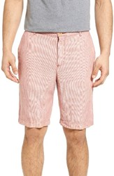 Tommy Bahama Men's Big And Tall Shoreline Stripe Linen Shorts