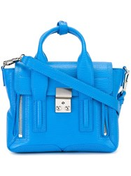 3.1 Phillip Lim Mini 'Pashli' Satchel Blue