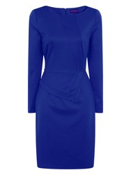 Hotsquash The Fitzrovia Ponte Dress Blue