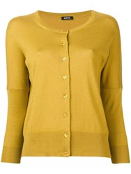 Aspesi Boba Cardigan Yellow
