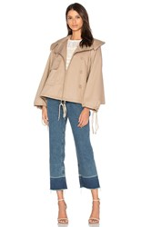 See By Chloe Short Trench Coat Beige