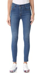 Stella Mccartney High Waisted Jeans Deep Classic Blue