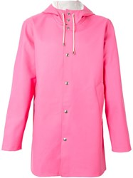 Excelsior X Expo Hooded Raincoat Pink And Purple