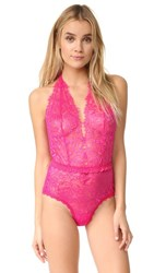 Hanky Panky After Midnight Wink Plaything Bodysuit Tickle Pink