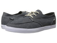 Reef Deck Hand 2 Tx Charcoal Charcoal Men's Lace Up Casual Shoes Black