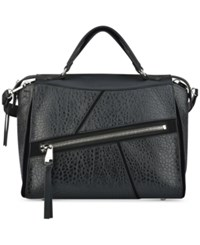 Nine West Underwraps Satchel Black