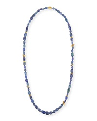 Wonderland Beaded Tanzanite And Diamond Necklace Mimi So