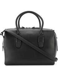 Opening Ceremony Hand Shaped Clasp Tote Bag Black