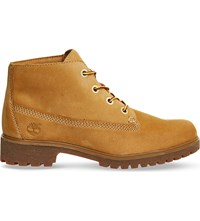 Timberland Slim Nellie Nubuck Leather Chukka Boots Wheat Nubuck