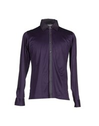 Karl Lagerfeld Lagerfeld Shirts Shirts Men Purple