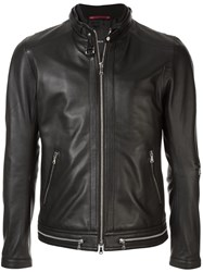 Loveless Zip Embellished Jacket Black