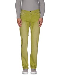 Vigano' Denim Denim Trousers Men Acid Green