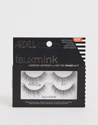 Ardell Faux Mink Lashes 817 Twin Pack Black