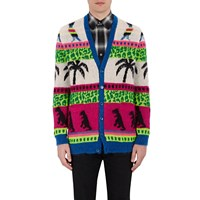 Saint Laurent Oversized Cardigan Multi