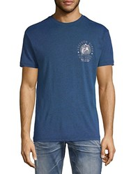 Affliction Pbr Stock Yards Tee Deep Sail